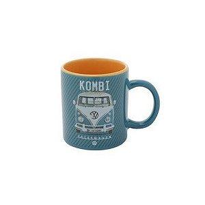 Mini caneca porcela Kombi Classic Azul 140 ml
