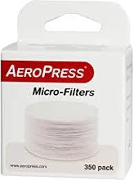 Micro Filtros Aeropress pacote com 350