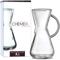 Coador Chemex com Alça de Vidro para 3 Xícaras