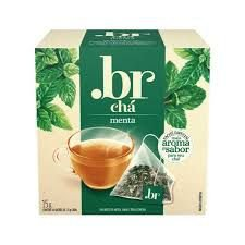 Chá de Menta .br com 10 Sachês