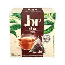 Chá Preto .br com 10 Sachês