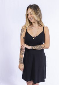 Vestido Alcinha Summer Up Side Wear Preto