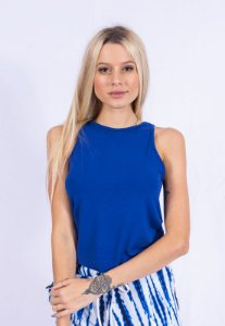 Blusa Regata Básica Up Side Wear Azul