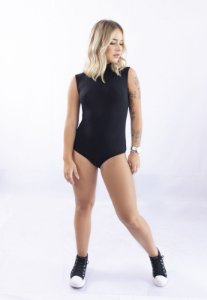 Body Up Side Wear Gola Alta Preto