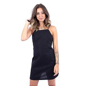 Vestido de Linho Up Side Wear Preto