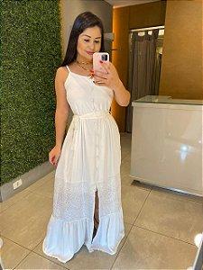 vestido renda