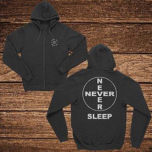 Moletom Never Sleep- Rave ON
