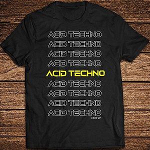 Camiseta Acid Techno XXX - Rave ON