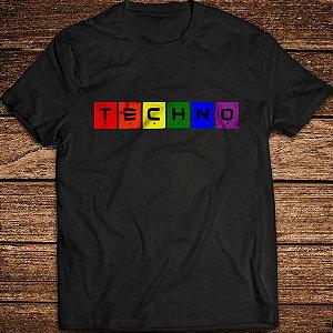 Camiseta Techno Colors - Rave ON