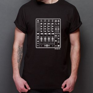 Camiseta Mixer - Rave ON