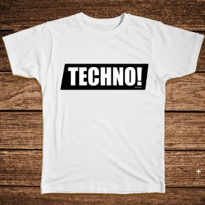 Camiseta Techno!  - Rave ON