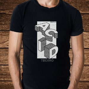 Camiseta Acid Techno - Rave ON