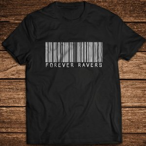 Camiseta Forever Ravers Barcode - Rave ON