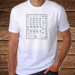 Camiseta Mixer Branca - Rave ON