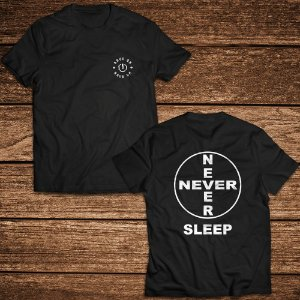 Camiseta Never Sleep - Rave ON