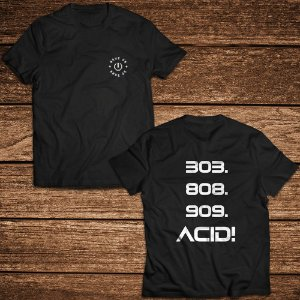 Camiseta 303 Acid - Rave ON