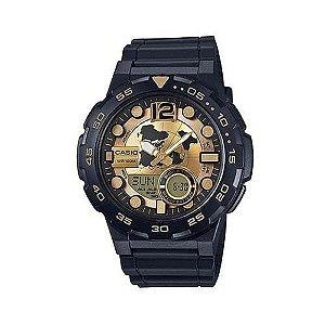 Relógio Casio AEQ-100BW-9AVDF