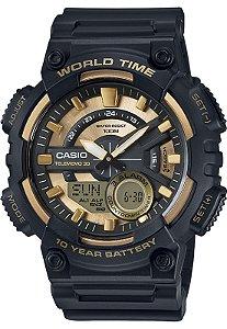 Relógio Casio AEQ-110BW-9AVDF