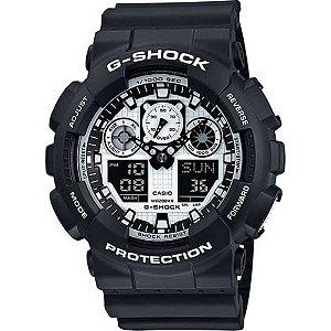 Relógio Casio G-Shock GA-100BW-1ADR