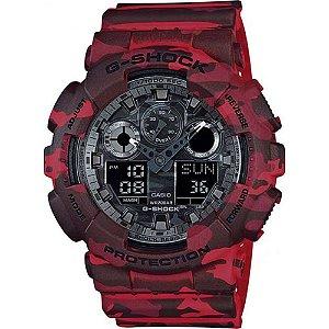 Relógio Casio G-Shock GA-100CM-4ADR