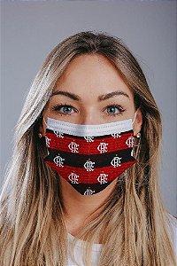 Máscara cirúrgica tripla c/ elástico cx c/ 30 und - Estampa 28