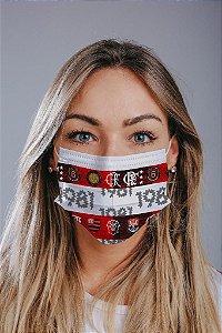 Máscara cirúrgica tripla c/ elástico cx c/ 30 und - Estampa 29