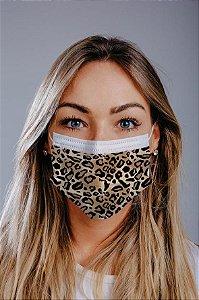 Máscara cirúrgica tripla c/ elástico cx c/ 30 und - Estampa 2