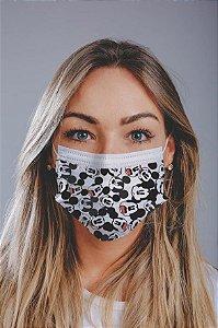 Máscara cirúrgica tripla c/ elástico cx c/ 30 und - Estampa 8