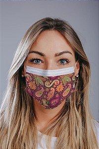 Máscara cirúrgica tripla c/ elástico cx c/ 30 und - Estampa 9