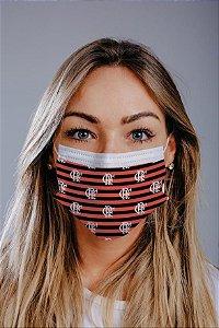 Máscara cirúrgica tripla c/ elástico cx c/ 30 und - Estampa 11