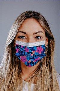 Máscara cirúrgica tripla c/ elástico cx c/ 30 und - Estampa 12