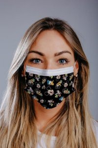 Máscara cirúrgica tripla c/ elástico cx c/ 30 und - Estampa 15