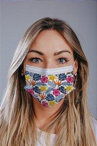 Máscara cirúrgica tripla c/ elástico cx c/ 30 und - Estampa 19