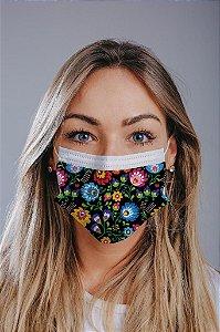 Máscara cirúrgica tripla c/ elástico cx c/ 30 und - Estampa 26