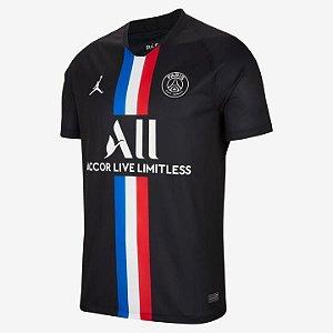 Camisa PSG Preta 2020/2021