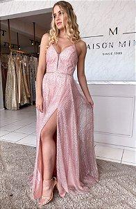 Vestido SHINE rosê