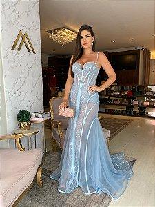 Vestido longo Lia Rabello