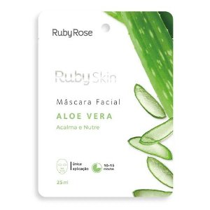 MÁSCARA FACIAL RUBY SKIN ALOE VERA RUBY ROSE