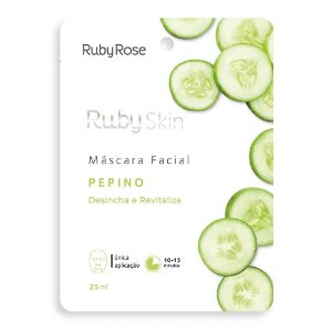 MÁSCARA FACIAL RUBY SKIN PEPINO RUBY ROSE