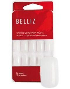 UNHAS POSTIÇAS QUADRADO MÉDIO BELLIZ