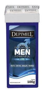 CERA DEPILATÓRIA ROLL-ON MEN POWERFUL DEPIMIEL