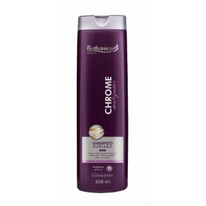SHAMPOO MATIZADOR CHROME 300ML BOTHÂNICO HAIR