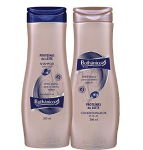 KIT PROTEÍNAS DO LEITE SHAMPOO 500ML + CONDICIONADOR 250ML BOTHÂNICO HAIR