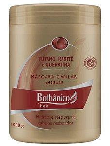 MÁSCARA TUTANO KARITÊ E QUERATINA 1000G BOTHÂNICO HAIR