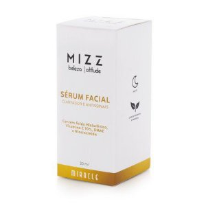 SÉRUM FACIAL CLAREADOR E ANTISSINAIS MIZZ