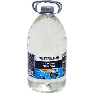SHAMPOO SEM SAL 4,6L NUTRILINE