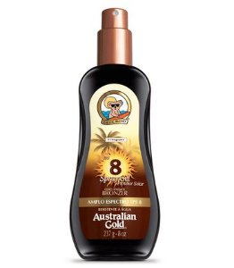 SPRAY GEL FPS 8 AUSTRALIAN GOLD