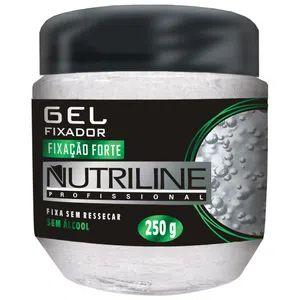 GEL FIXADOR FIXAÇÃO FORTE 250G NUTRILINE