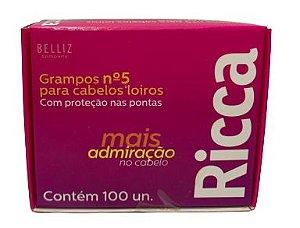 GRAMPOS NÚMERO 5 PARA CABELOS LOIROS RICCA
