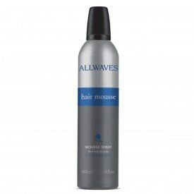 HAIR MOUSSE SPRAY 400ML ALLWAVES